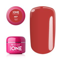 Silcare Base One Color, Spicy Red 47#