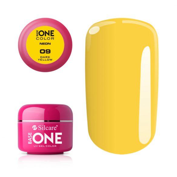 Silcare Base One Neon, Dark Yellow 09#