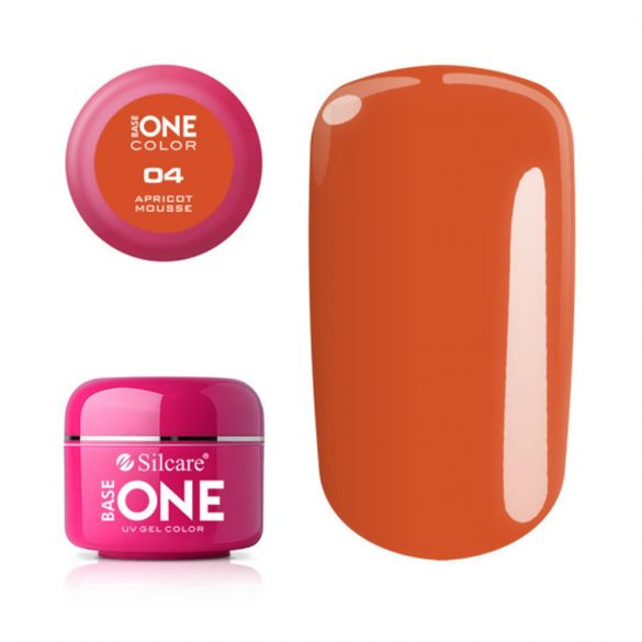 Silcare Base One Color, Apricot Mousse 04#