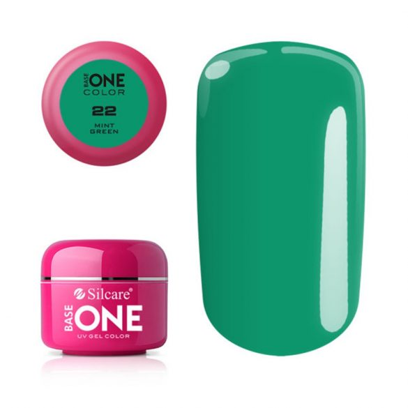 Silcare Base One Color, Mint Green 22#