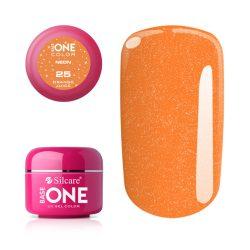 Silcare Base One Neon, Orange Juice 25#