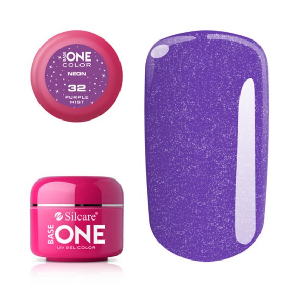 Silcare Base One Neon, Purple Mist 32#