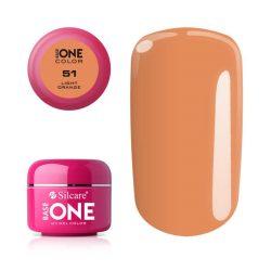 Silcare Base One Color, Light Orange 51#