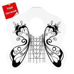 Pillangó sablon, fehér 50 db