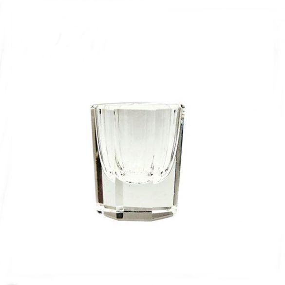 Üveg tálka