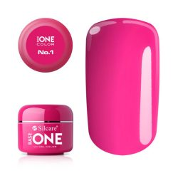 Silcare Base One Color, Silcare Pink No.1