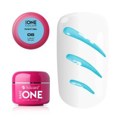 Silcare Base One Paint gel, díszítő zselé, Light Blue 06#