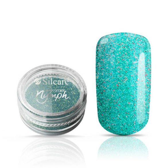 Silcare Shimmer Nymph Turquoise, sellőpor