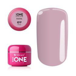 Silcare Base One Pastel, Pink 07#