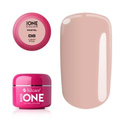 Silcare Base One Pastel, Light Pink 08#