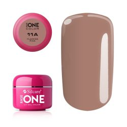 Silcare Base One Color, Flaming Pink 11A#
