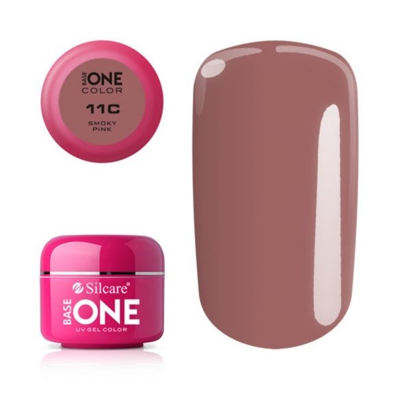 Silcare Base One Color, Smoky Pink 11C#