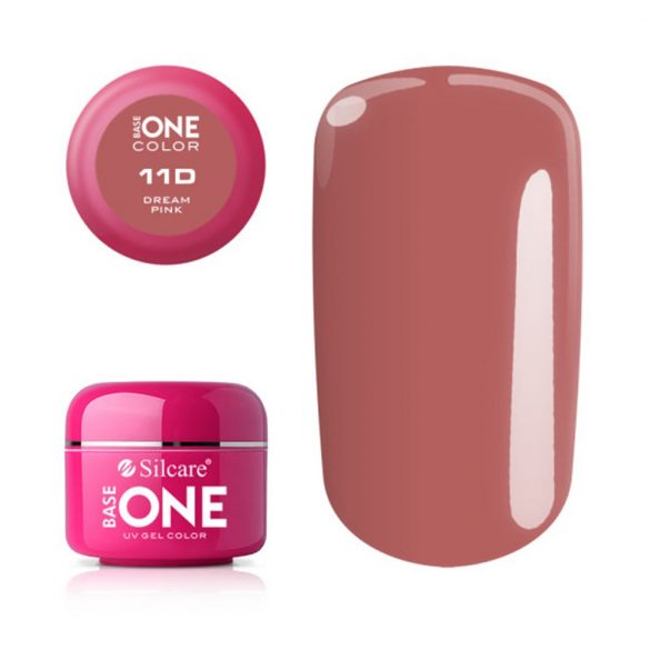 Silcare Base One Color, Dream Pink 11D#