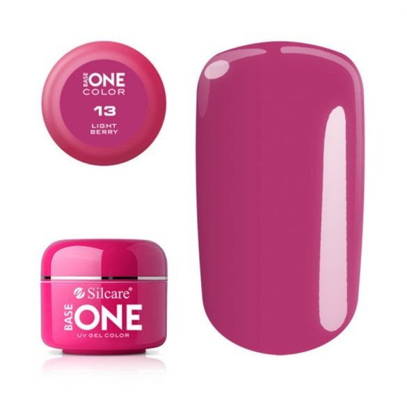 Silcare Base One Color, Light Berry 13#