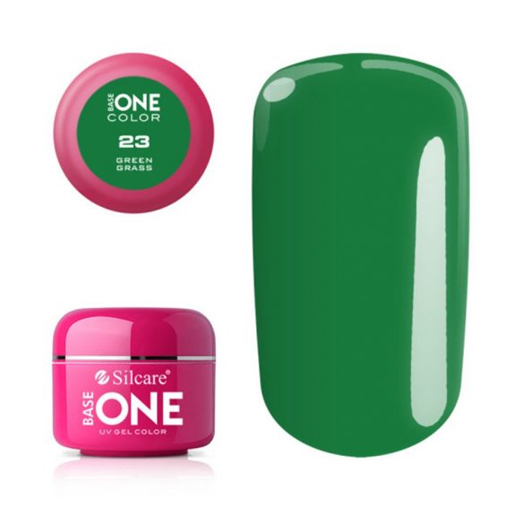 Silcare Base One Color, Green Grass 23#