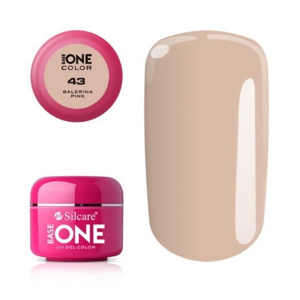 Silcare Base One Color, Balerina Pink 43#