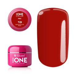 Silcare Base One Red, Seductive Red 13#
