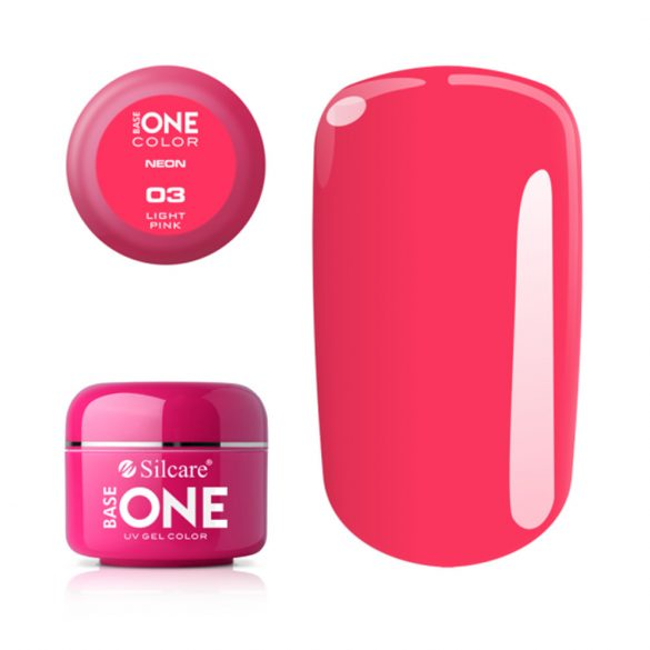 Silcare Base One Neon, Light Pink 03#