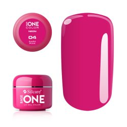 Silcare Base One Neon, Dark Pink 04#