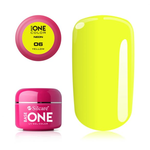 Silcare base One Neon, Yellow 06#