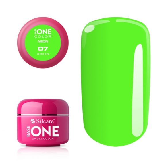 Silcare Base One Neon, Green 07#