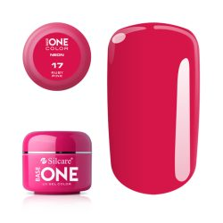 Silcare Base One Neon, Ruby Pink 17#