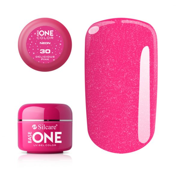 Silcare Base One Neon, Delicious Pink 30#