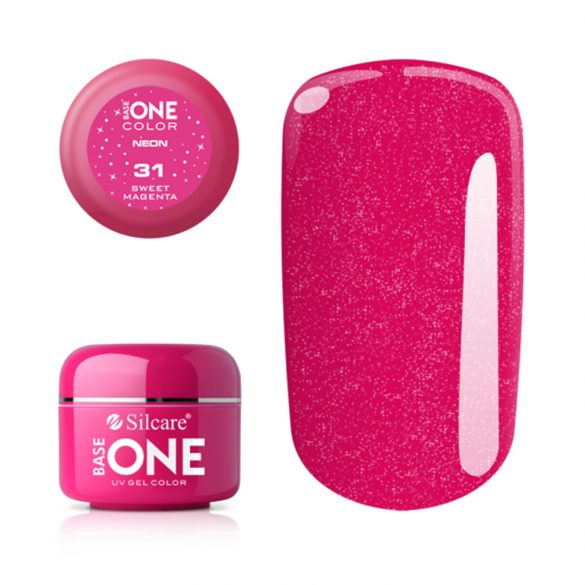 Silcare Base One Neon, Sweet Magenta 31#