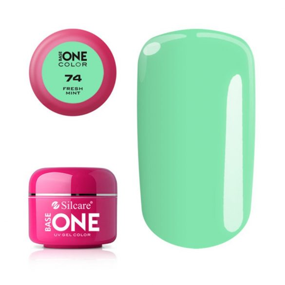 Silcare Base One Color, Fresh Mint 74#