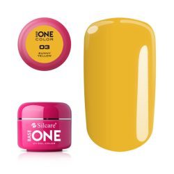 Silcare Base One Color, Sunny Yellow 03#