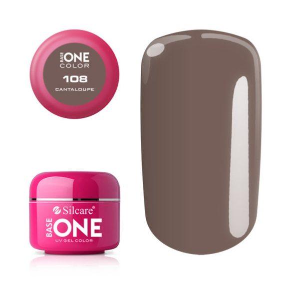 Silcare Base One Color, Cantaloupe 108#