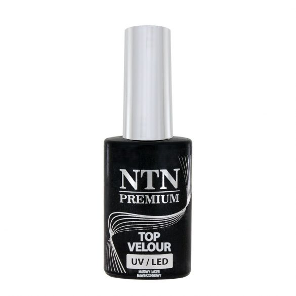 NTN Top Velour matt hatású fedő gél