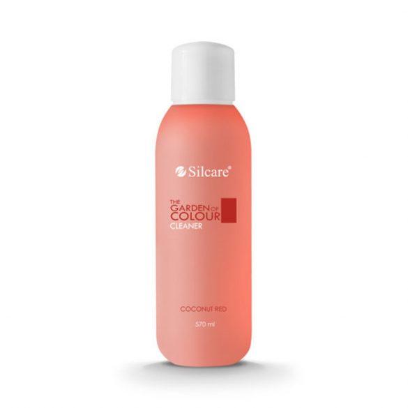 Silcare Cleaner, zselé fixáló Coconut Red 570ml