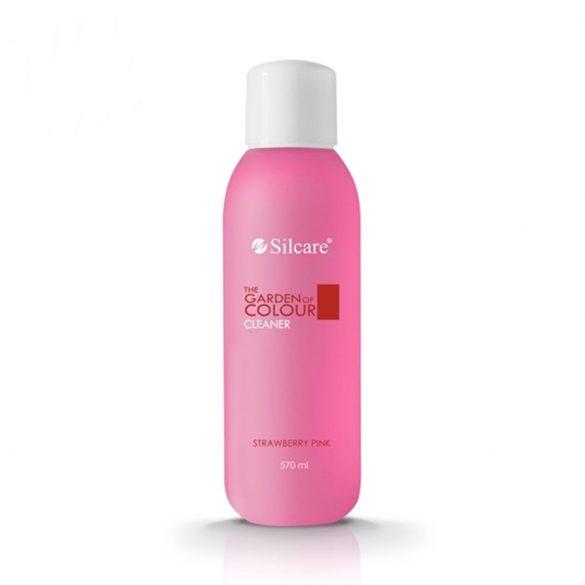 Silcare Cleaner, zselé fixáló Strawberry Pink 570ml