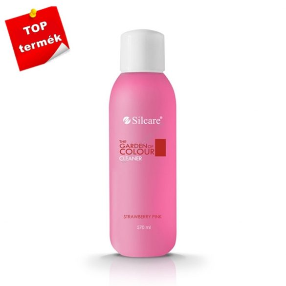 Silcare Cleaner, zselé fixáló Strawberry Pink 570ml