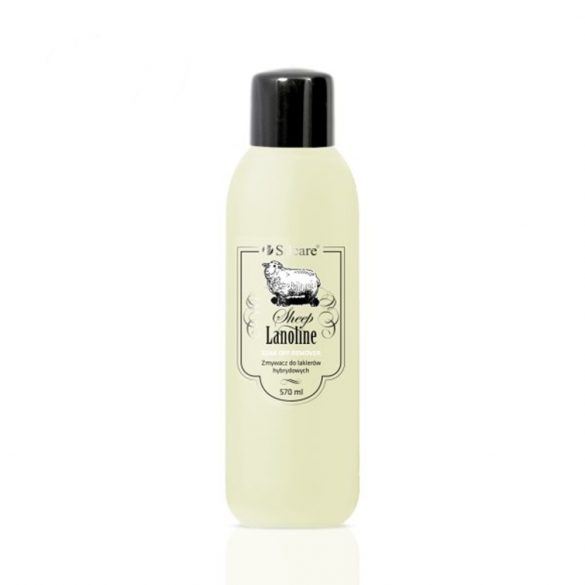 Soak Off Remover with lanolin, gél lakk leoldó 570ml