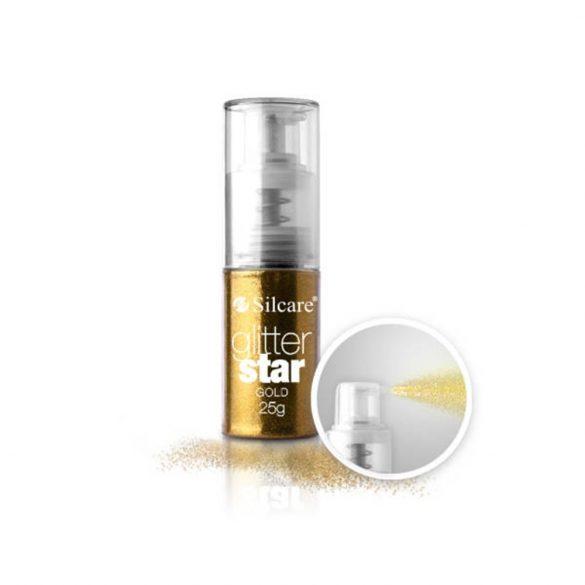 Glitter Star Spray 25g, Gold