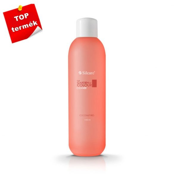 Silcare Cleaner, zselé fixáló Coconut Red 1000ml