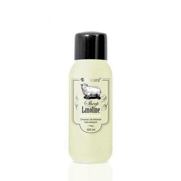 Soak Off Remover with lanolin, gél lakk leoldó 300ml