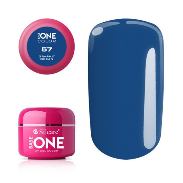 Silcare Base One Color, Graphit Ocean 57#