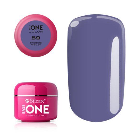 Silcare Base One Color, Crocus Violet 59#