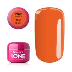 Silcare Base One Color, Sunset Orange 82#