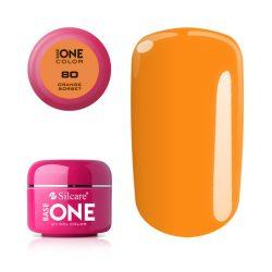 Silcare Base One Color, Orange Sorbet 80#