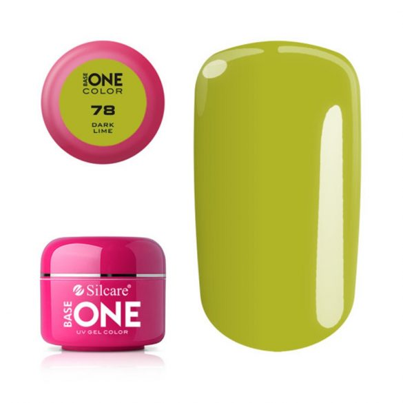 Silcare Base One Color, Dark Lime 78#