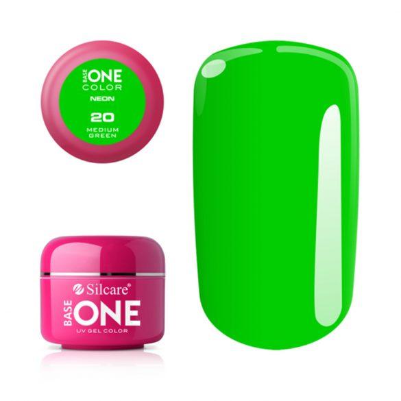 Silcare Base One Neon, Medium Green 20#