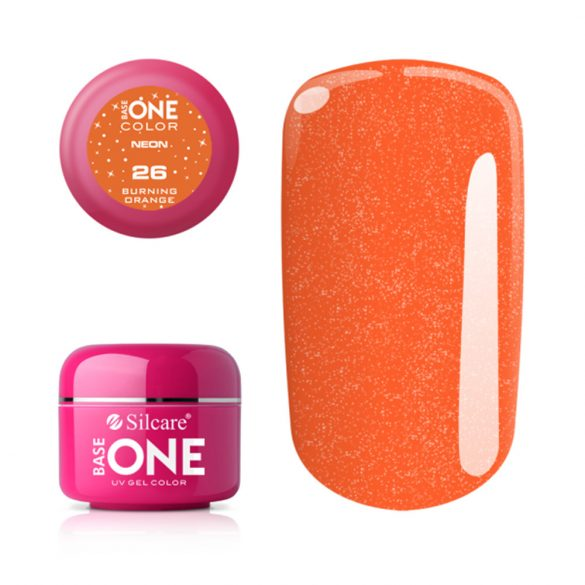 Silcare Base One Neon, Burning Orange 26#