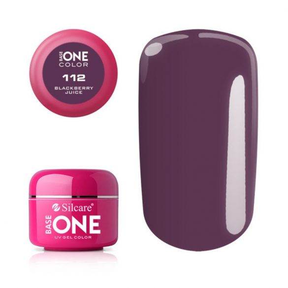 Silcare Base One Color, Blackberry Juice 112#
