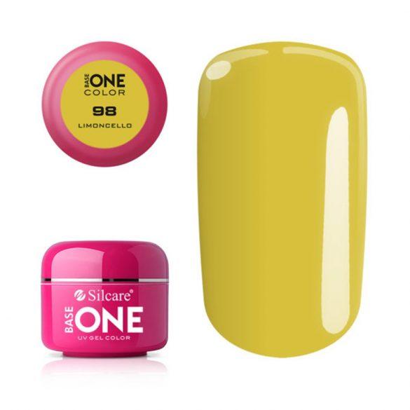 Silcare Base One Color, Limoncello 98#