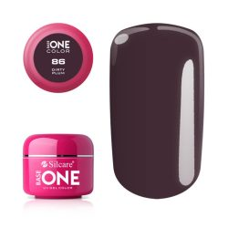 Silcare Base One Color, Dirty Plum 86#