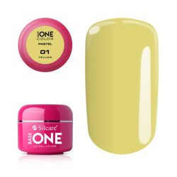 Silcare Base One Pastel, Yellow 01#